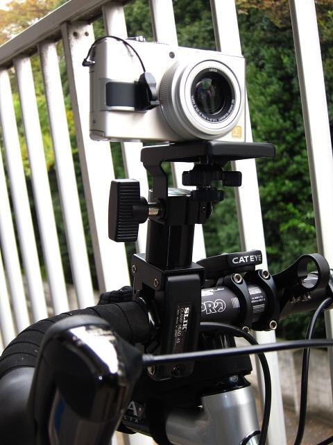 自転車用 自転車用カメラクランプ : シリーズ第2弾・SLIK クランプ ...